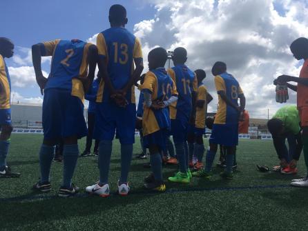 XV Torneo Internacional Infantil de Fútbol 7 de Carballo 2019. AFA Campeón. Equipo Entrenamiento 03
