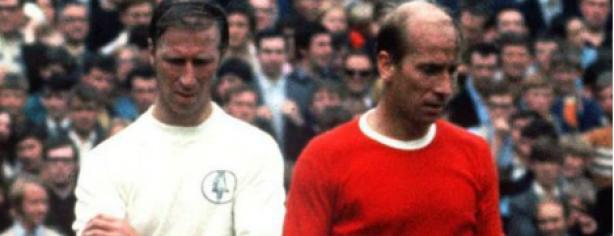 Jackie y Bobby Charlton