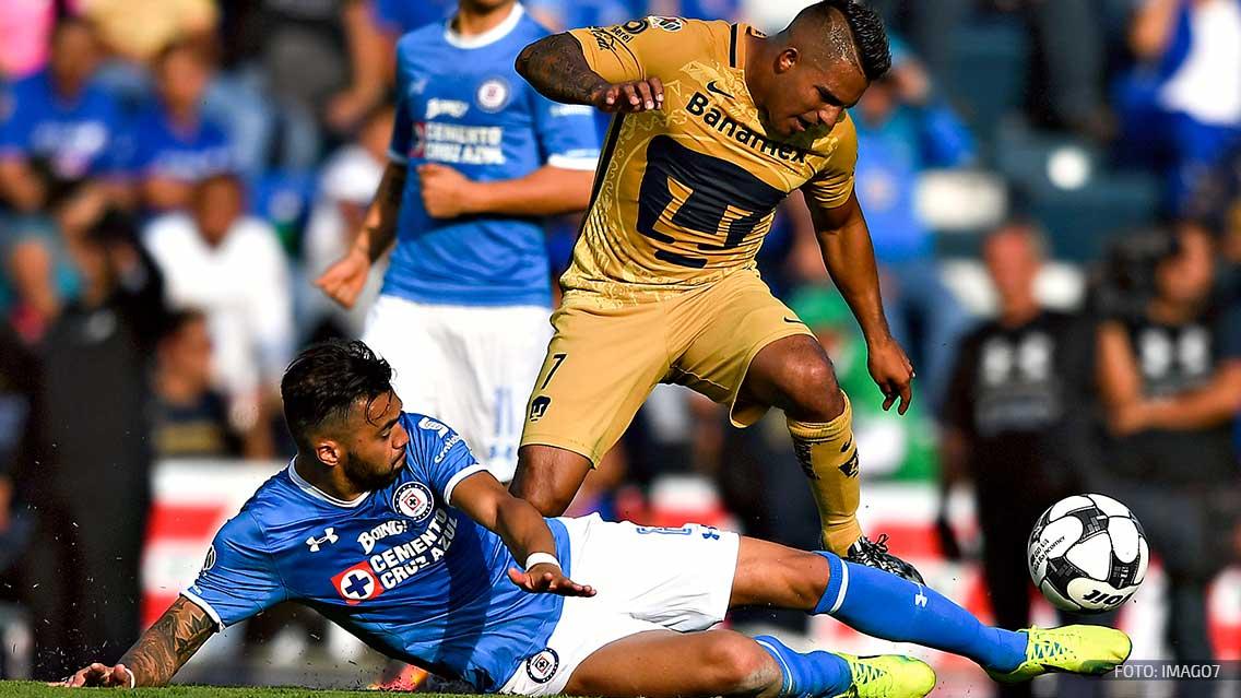 Nicolás Castillo se estrena en la victoria de Pumas sobre Cruz Azul