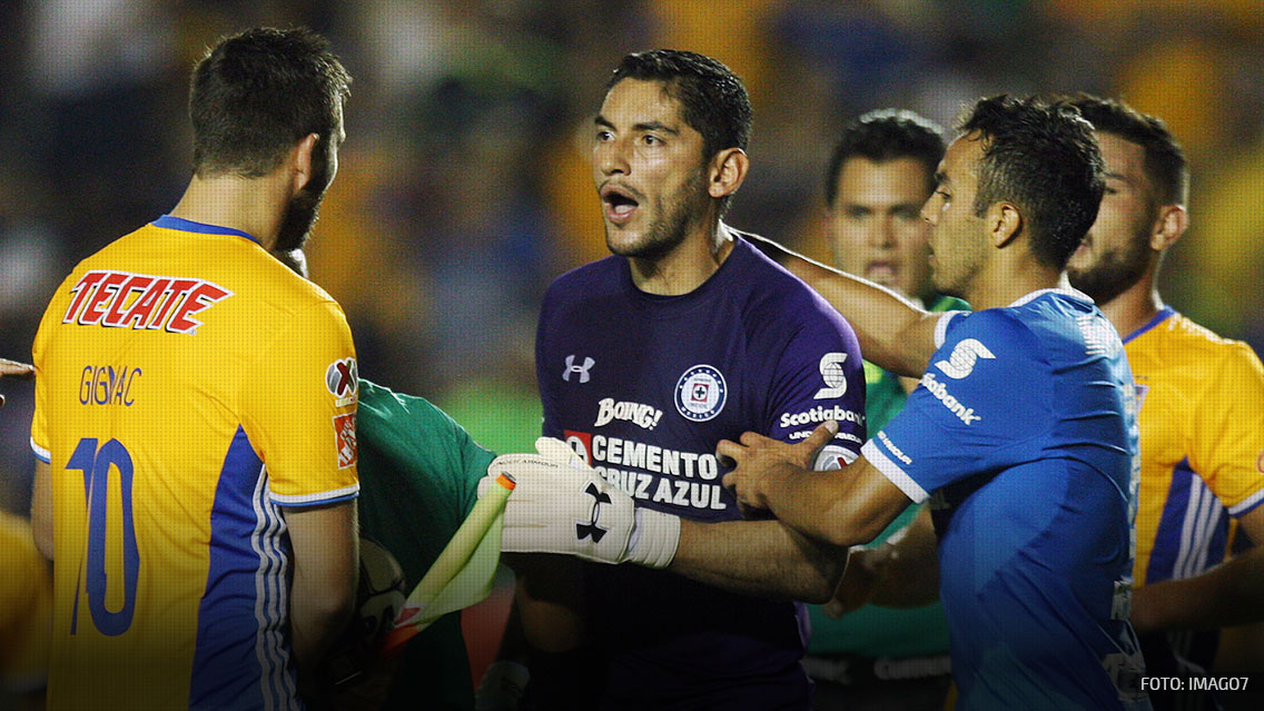 Tigres vs Cruz Azul