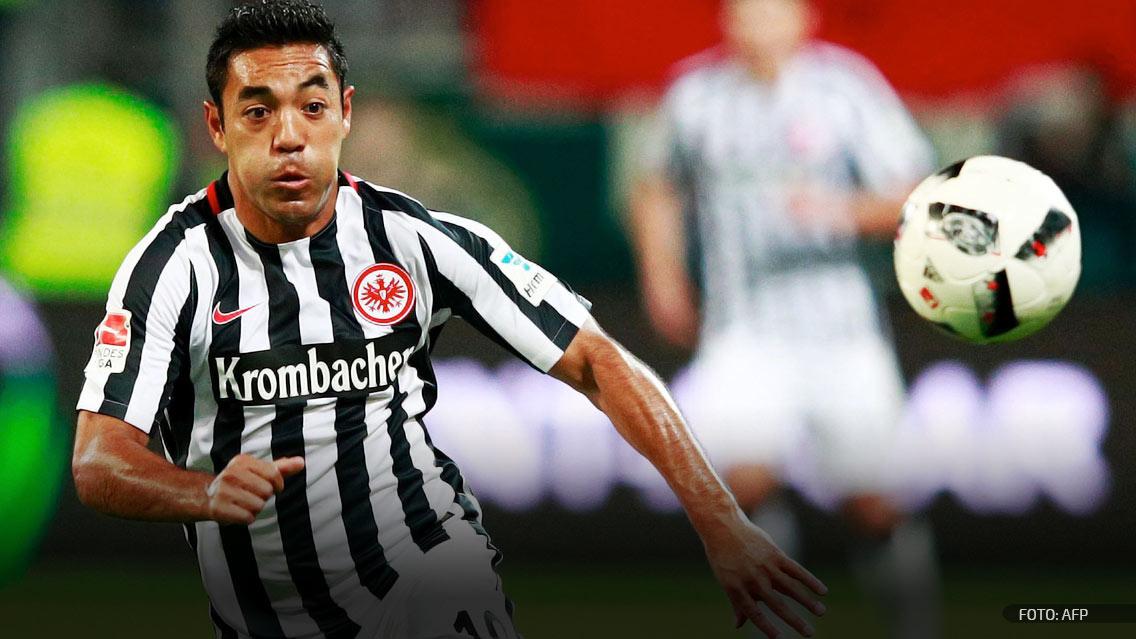 Marco Fabián y Eintracht tropezaron con Wolfsburg