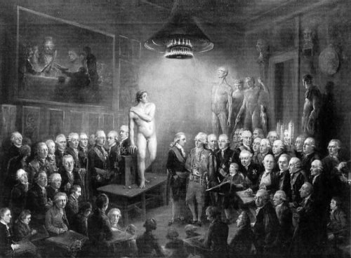 http://commons.wikimedia.org/wiki/File:Gustav_III%27s_Visit_to_the_Konstakadamien_1780.jpg