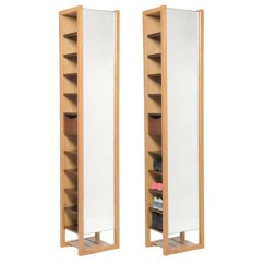 Sofa Spare Parts Uk Mattress Outlet Mirrored Shoe Storage Tower | Futon Company