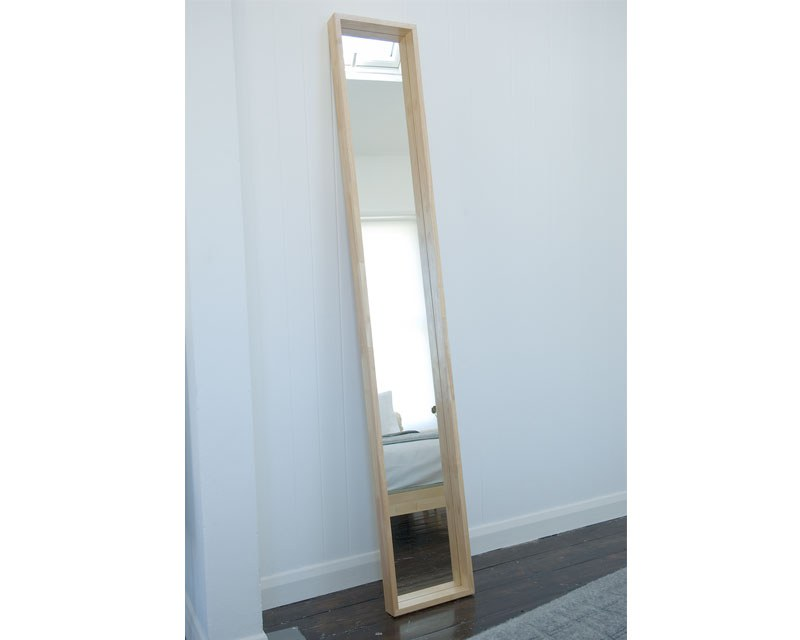 Long wall mounted Mirror  Futon Company