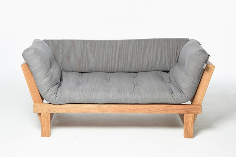 Oak Wooden Cute Sofa Bed Futon Company