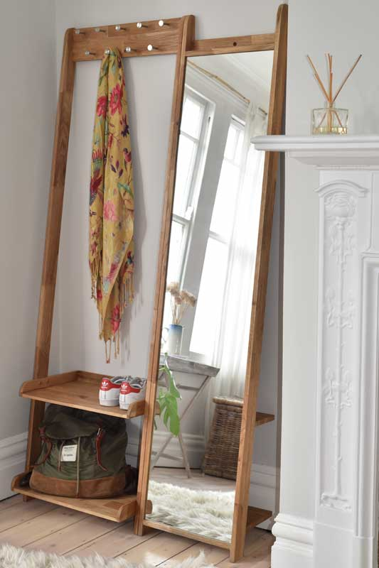 full length mirror in living room designs photos modern leaning with shelves oak | futon company