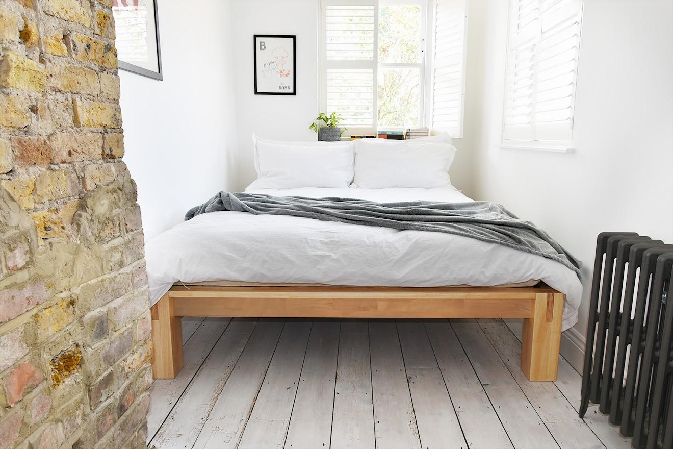 Kingsize Japanese Style Platform Bed  Futon Company