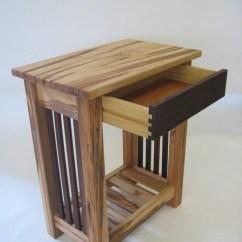 Black Walnut Kitchen Table Rustic Island Ambrosia Maple & End | Futon Designs