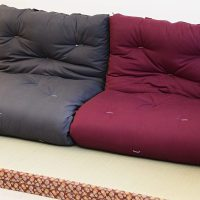 Shikibuton Japanese futon Cotton - Futon d'or & Natural ...