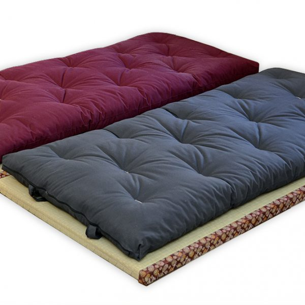 how to make sofa covers chesterfield style fabric shikibuton japanese futon cotton - d'or & natural ...