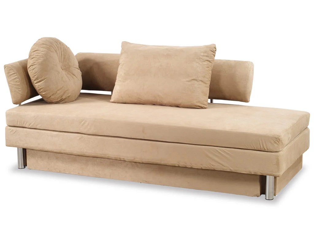 queen size sleeper sofa sectional fur jugendzimmer wohnen nubo khaki microfiber bed by at home usa