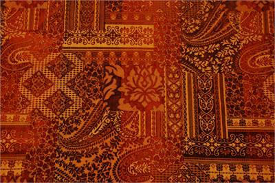 India Fall Futon Cover