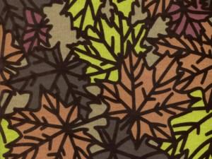 Pressed Leaf Copper 22'' Bolster Set