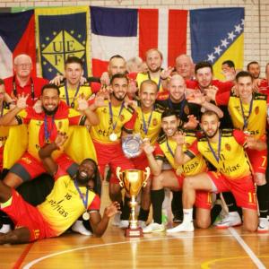 België Europees kampioen (BZVB) !