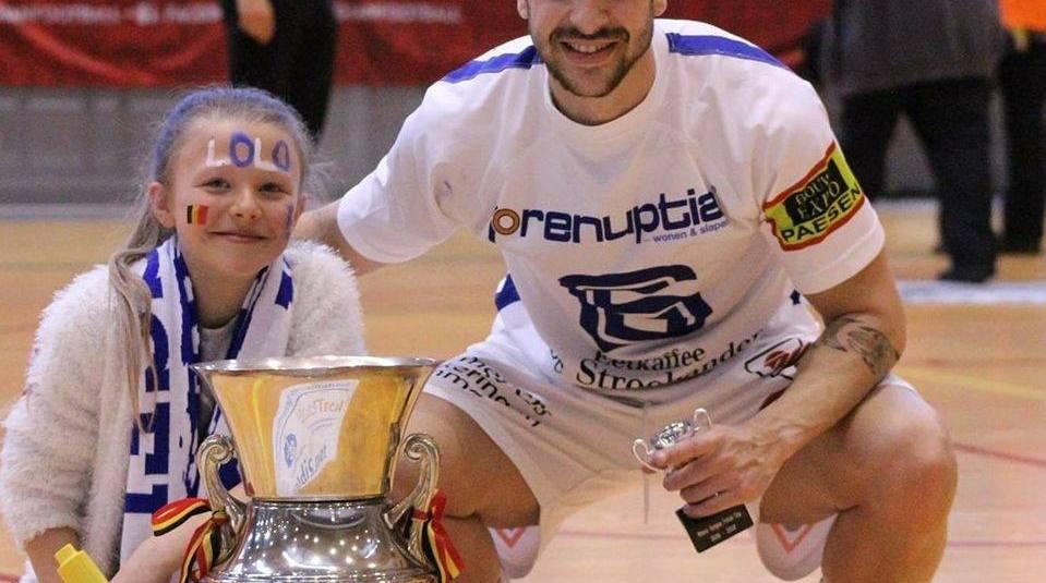 """Lolo Jarque (FS Gelko Hasselt): """"We weten wie we zijn en hoe goed we zijn. In zaalvoetbal kan alles"""""""