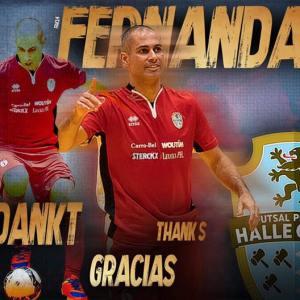 Einde carriere voor Fernandao (FP Halle Gooik) ?