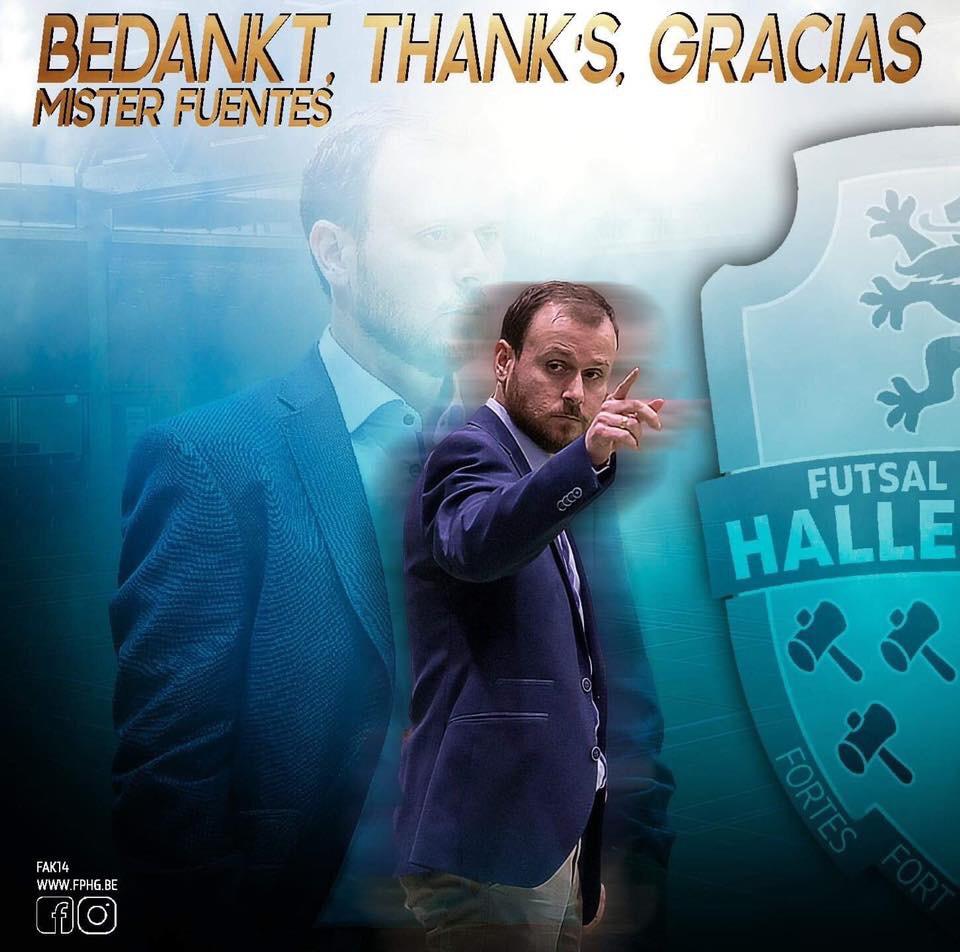 FP Halle Gooik gaat verder zonder coach Fuentes