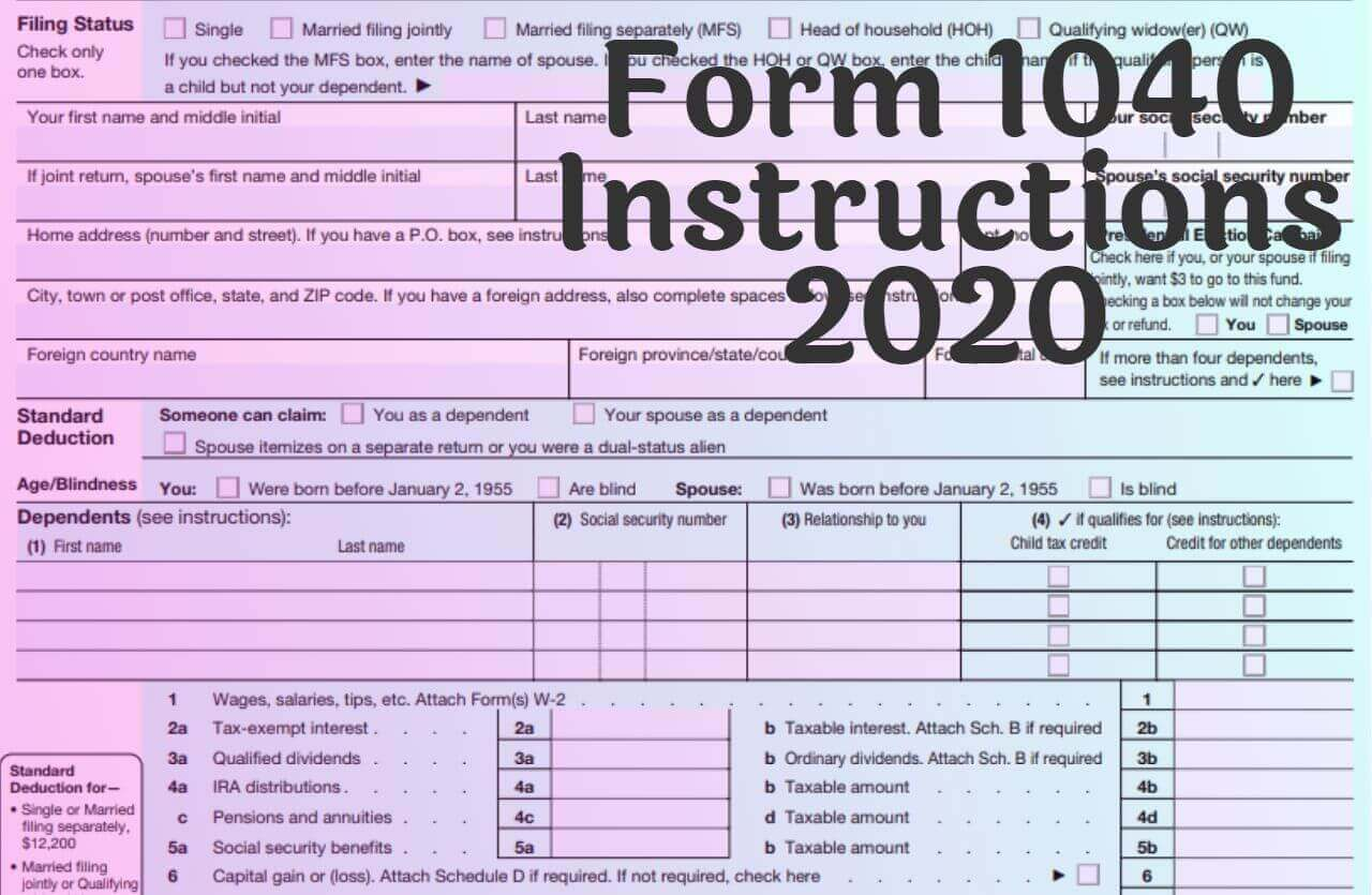 Form Instructions