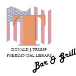 Logo of Trump Presidential Library Bar & Grill
