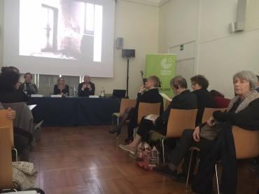 Foto del convegno sull'etica dell'immagine presso il Goethe-Institut di Torino