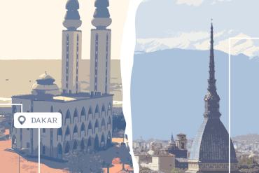 La campagna di crowdfunding di ToGather è attraverso un viaggio in macchina da Torino a Dakar