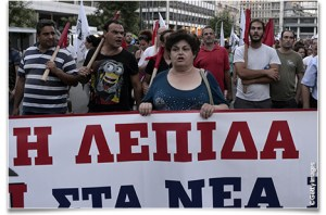 grecia manif