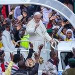 Papa, secondo giorno in Kenya
