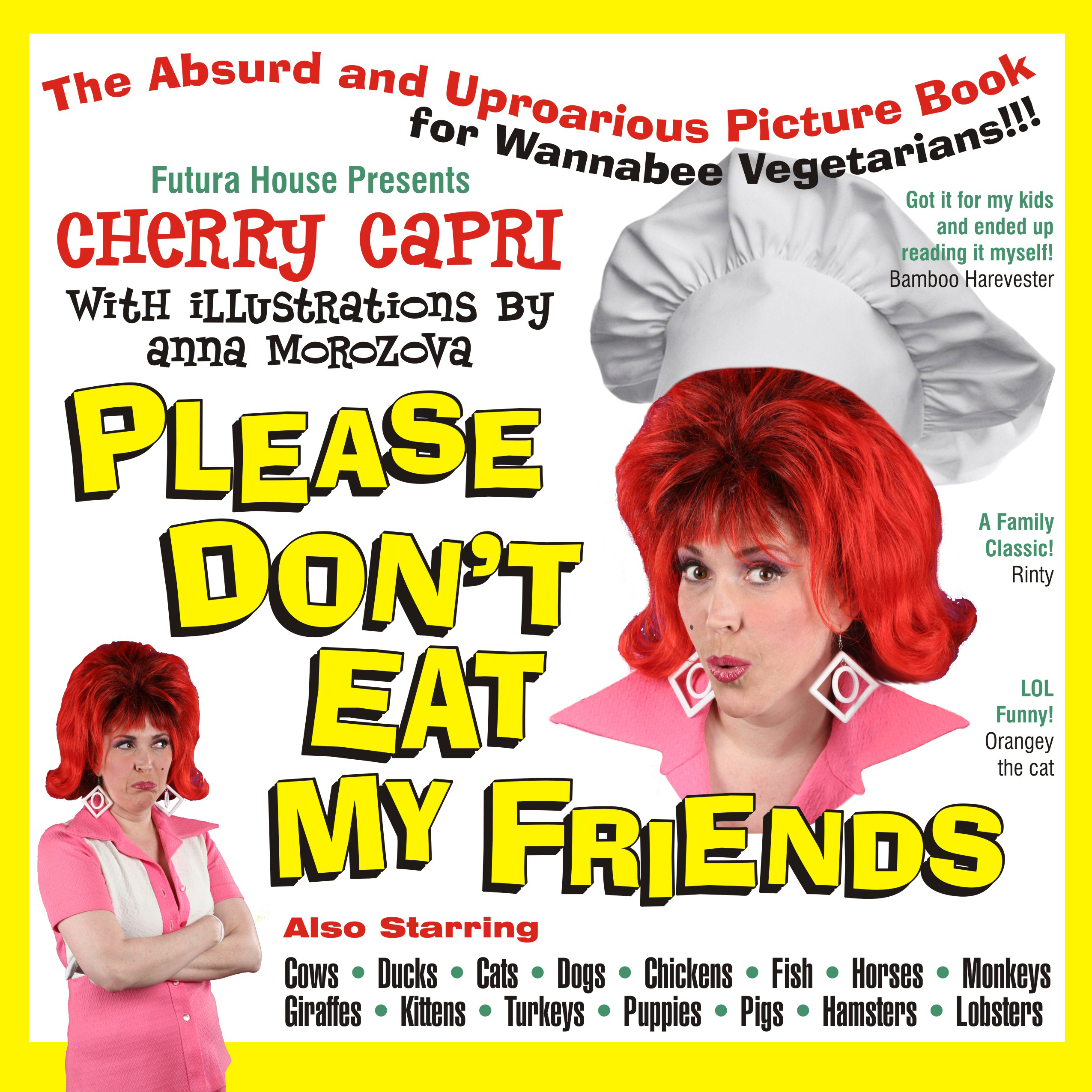 Please Dont Eat My Friends - book cover