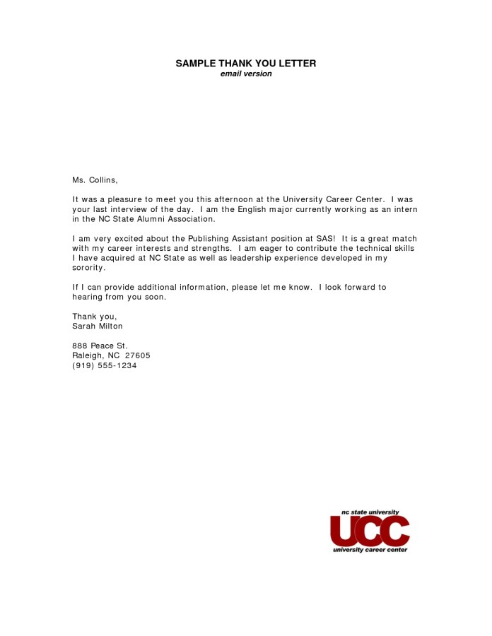 Thank You Letter After Interview Medical Assistant Free Resume Templates