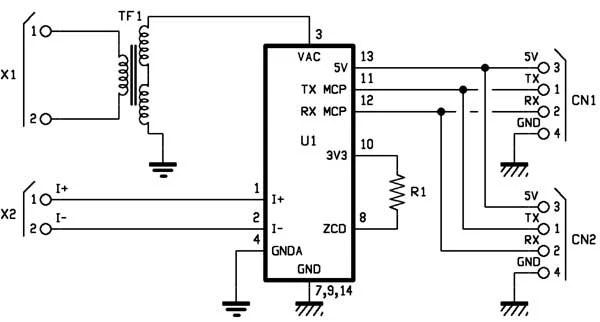 Energy meter module