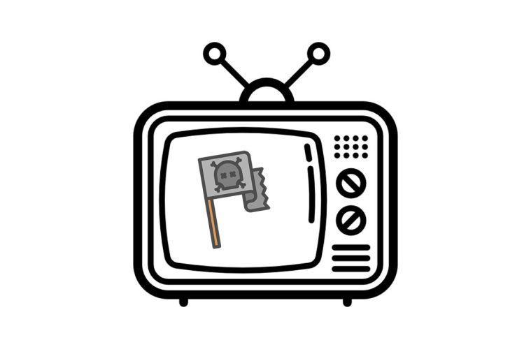 Televisão pirata
