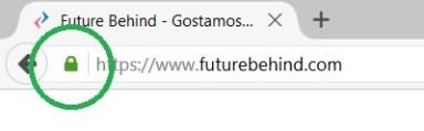 Future Behind - Ligação HTTPS no Firefox