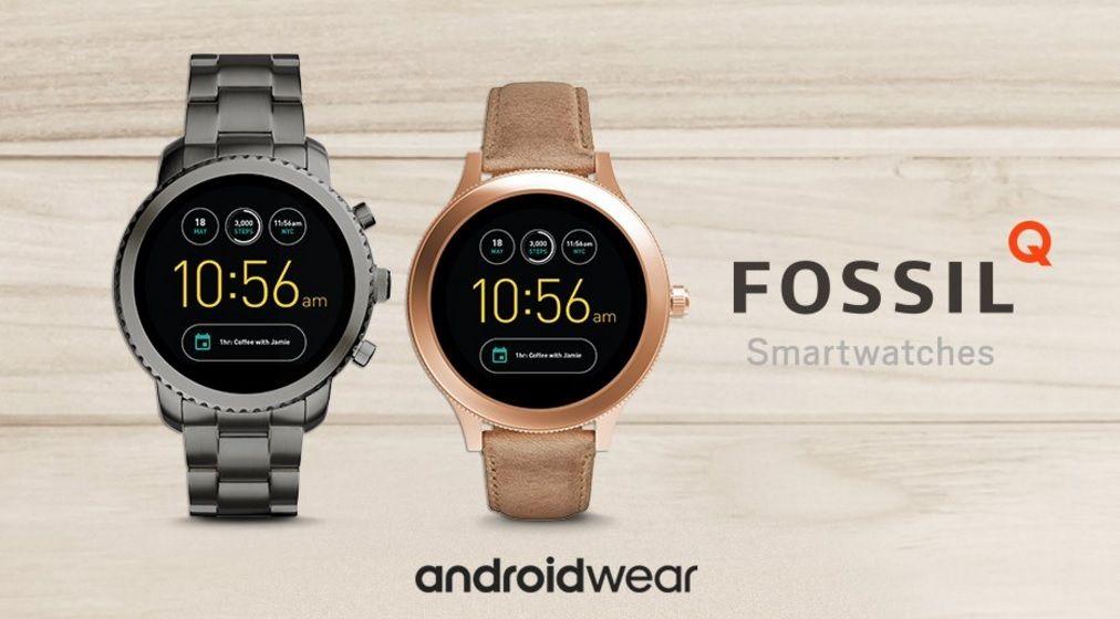 Fossil Q Venture e Q Explorist   Android Wear 2.0