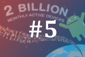 Android Dois mil milhões