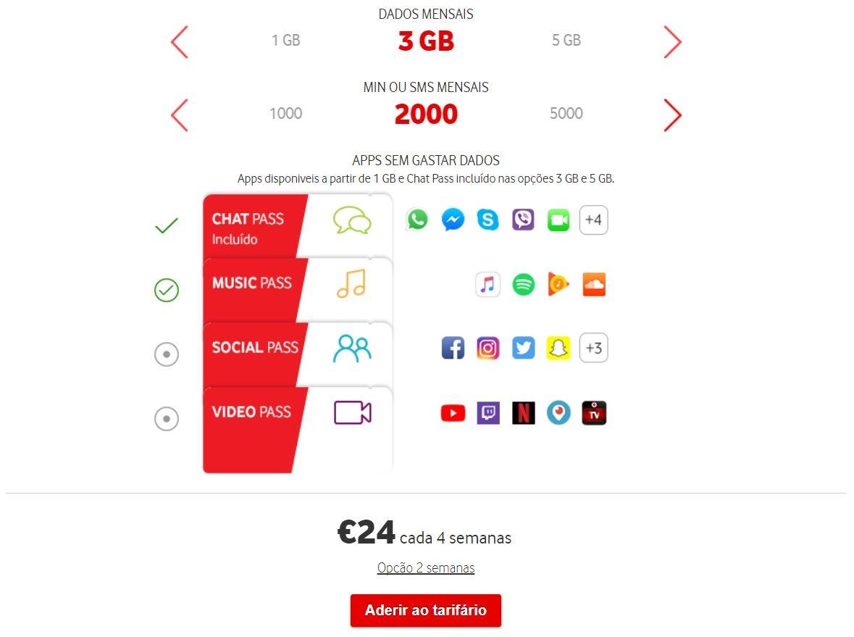 O novo tarifário personalizável — Vodafone You