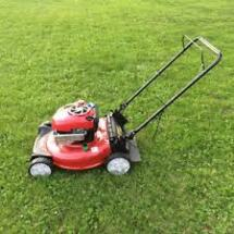 hand held lawn mower