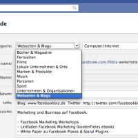 Wie man die Facebook Seitenkategorie & App-Namen ändern kann