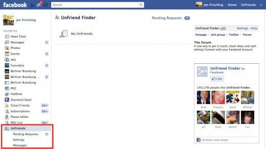 Unfriend-Finder-Facebook-Freunde-Script
