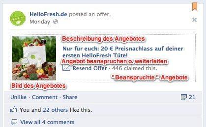 Facebook Testet Offers In Deutschland