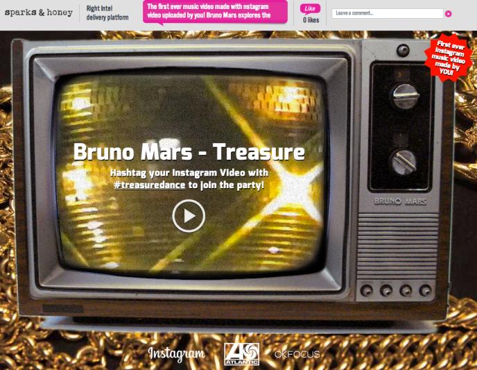 Instagram Kampagne - Bruno Mars