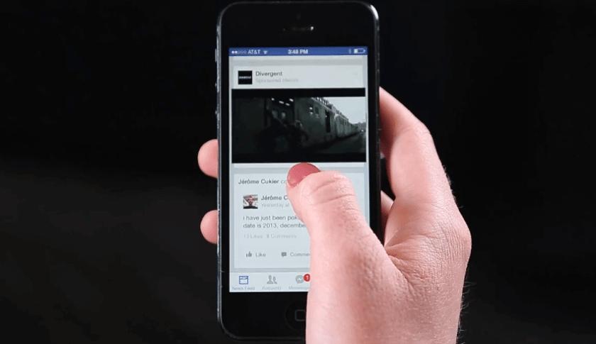 Facebook Videoanzeigen