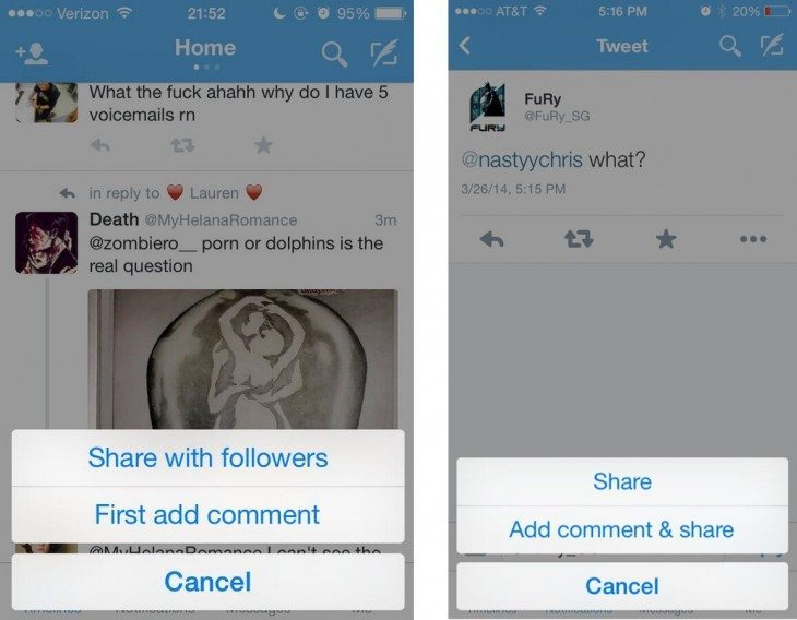 Das Ende vom Retweet - Twitter Share Button