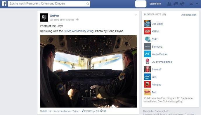 Test Neuer Facebook News Feed