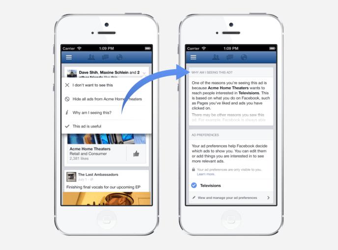 Facebook AD Preferences - Warum seine Nutzer bestimmte Facebook Anzeigen