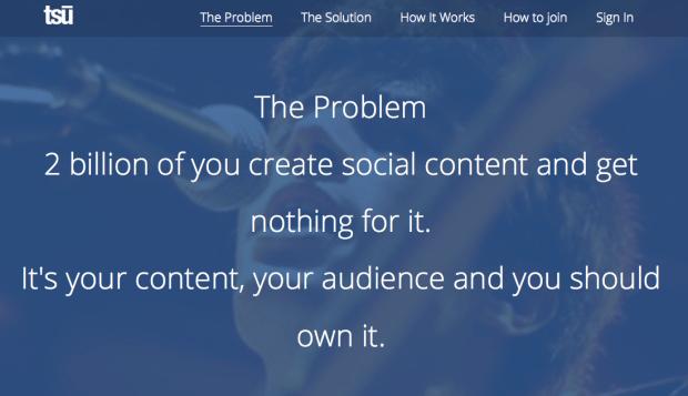 tsu - soziales Netzwerk bezahlt seine Nutzer