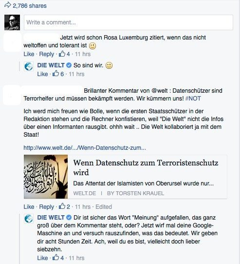 Community Management auf Facebook - Konfrontation statt Diskussion