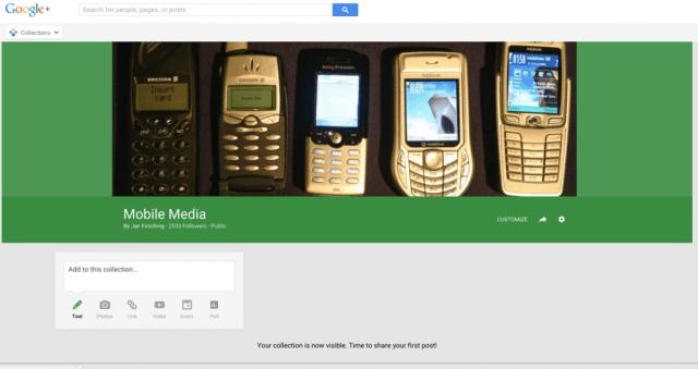 Google+ Collections - Neue Möglichkeit der Content Curation