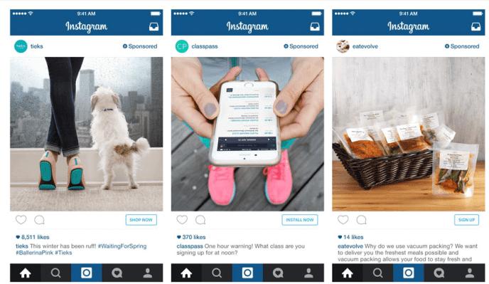 Instagram Anzeigen Formate