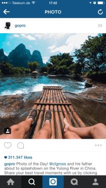 Instagram Beliebteste Beiträge - Regram als Lösung