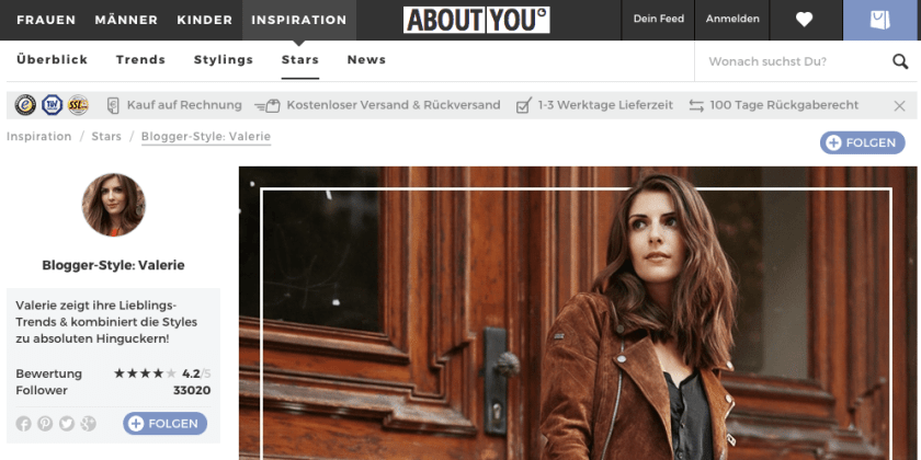 ABOUTYOU Influencer Marketing